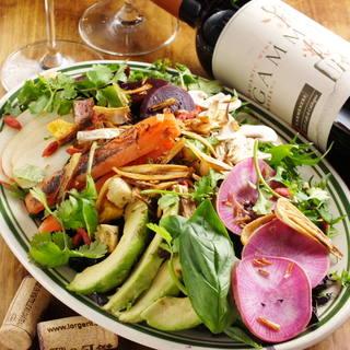 【オーガニック】自家農園から直送の新鮮な在来種野菜だけを使用
