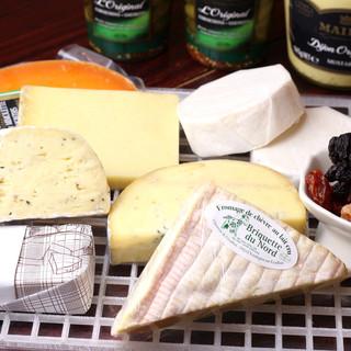 ◇仏産チーズ使用◇多彩なチーズを堪能◎ここならではの逸品も◎