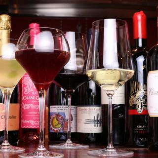 ◇ワイン全30種◇日常的に楽しむ物から特別な日の銘柄まで◎
