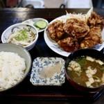 どて丼・串かつ・おおぞら - 鶏唐揚げランチ