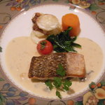 キャトルセゾン - メイン:魚料理