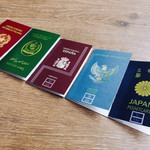旅路Kitchen - パスポートデザインのポイントカード
