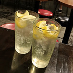 VECTOR BEER FACTORY - 自家製レモンサワー(500円)