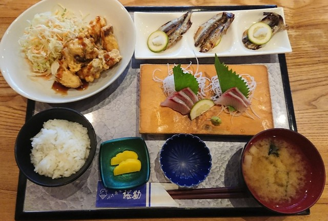 づけ丼屋 桜勘 , 海の桜勘カンパチから揚げ定食