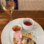 イタリア食堂 ジラソーレ - 前菜盛り合わせ
