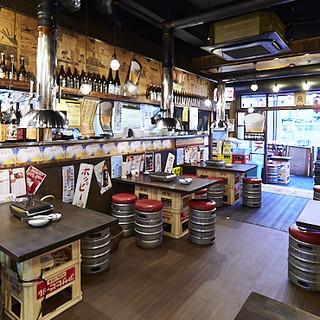 昭和レトロな雰囲気の店内は、ほっと落ち着くアットホームな空間