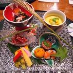 夢殿 - 料理写真:甲州馬刺 アボカドユッケ◎