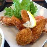 ROCK BAY RESTAURANT - ミックスフライ+ご飯+味噌汁+自家製豆腐+デザート+ドリンク1600円