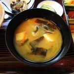 大衆割烹 清勢 - 冷たい味噌汁