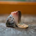 寿司栄 - 2018.8 五島列島〆真鯖炙り