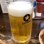 正ちゃん - 生ビール 550円。