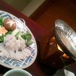 旬膳 瑞禾 - 替り鉢(鱧しゃぶ)