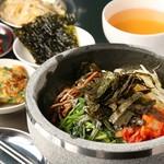 韓国バル ハラペコ - 石焼きビビンパ定食