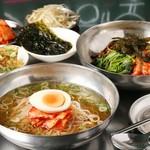 韓国バル ハラペコ - 冷麺定食