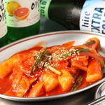 韓国バル ハラペコ - トッポギ