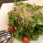 京鼎樓 - サラダのアップ