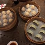 京鼎樓 - 小籠包と野菜餃子