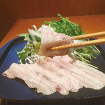 魚菜 日本橋亭 - 焼きしゃぶ
