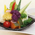 空知野菜のグリルバーニャカウダ