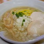麺屋 一布 - 柚塩鶏そば