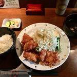 くし焼き 狄 - 竜田揚げ定食