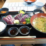 91745090 - 新鮮生カツオ定食