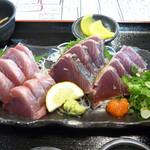 銀蔵 - 新鮮生カツオ定食