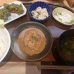 茶CAFE 竹若 - 鯛煎茶漬け