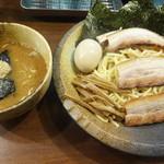 つけ麺屋 ひまわり - 特製つけ麺・中(1000円)