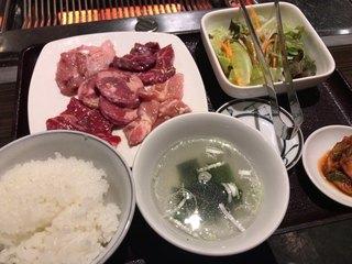 焼肉ごち苑。 浅草橋東口店 - スタミナランチ