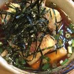 食事処 阿部 - 揚げ出し豆腐