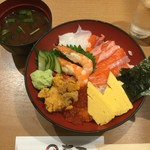 さかなやのmaru寿司 - 海鮮丼セット