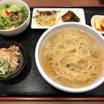 鉄板焼 京都 梅しん - 冷麺セット