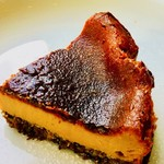 カフェ セレクト - グルテンフリー黒糖ベイクドチーズケーキ