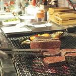 ランプキャップ - お肉焼き焼き