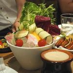 ランプキャップ - 新鮮野菜はバーニャカウダで