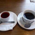 はしぐち亭 - デザートとコーヒー