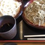 手打ちめん 詠作 - 料理写真:合い盛り ¥800-
