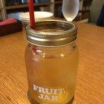 八坂のダイニング HACHI - リンゴジュース