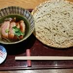 志趣饗粋 蕎麦 鷲ひら - 鴨せいろ、1,680円。