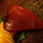 竹亭にしき - 鹿児島のかつお(前菜お造り3種盛り)