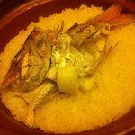 竹亭にしき - 魚めし(真鯛の炊き込み)
