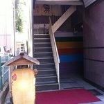竹亭にしき - ビル入口