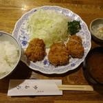 91761124 - ヒレカツ定食