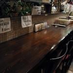 イタリアン酒房 ときわ - カウンター席