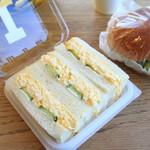 パンのトラ - 料理写真:たまごサンド
