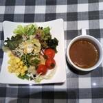 イル・キャンティ  - ①サラダ&スープ