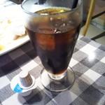 イル・キャンティ  - ④ランチドリンクのアイスコーヒー