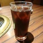 信州焼肉 NAMSAN - 黒ウーロン茶アイス