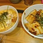 91766237 - ミニカツ丼&ミニチャーシュー丼